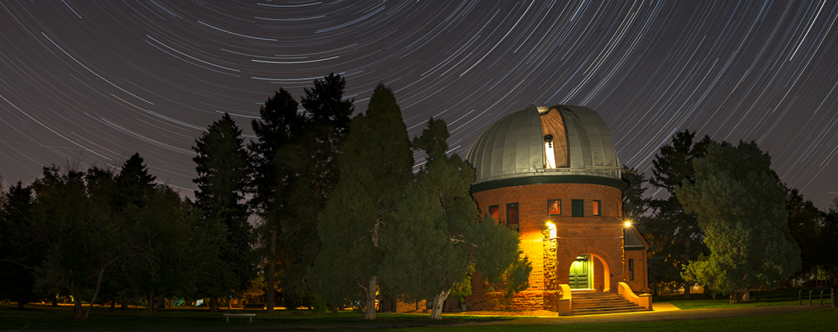 Chamberlin Observatory at Night