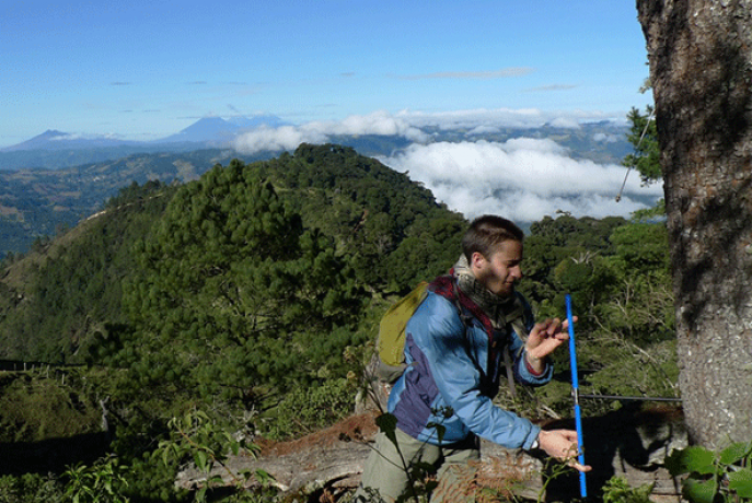 Student research in Guatemala